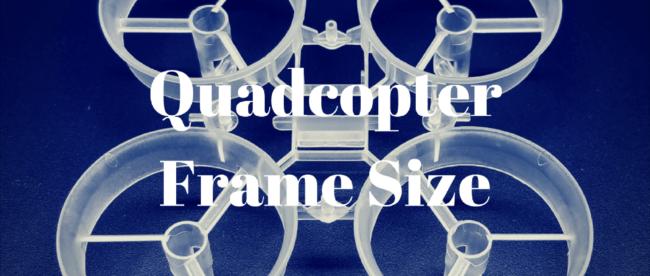 drone frame size header